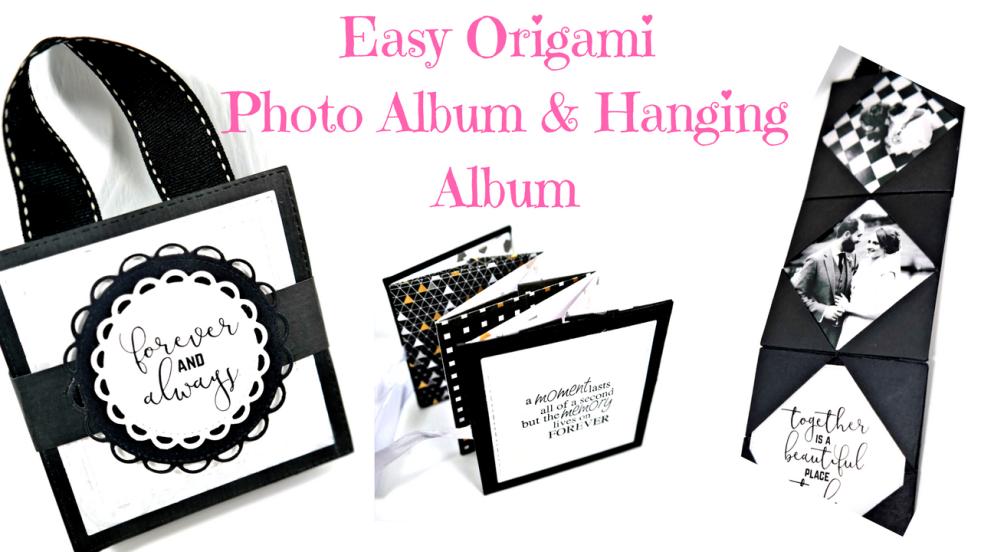 Hanging Mini Origami Photo Album