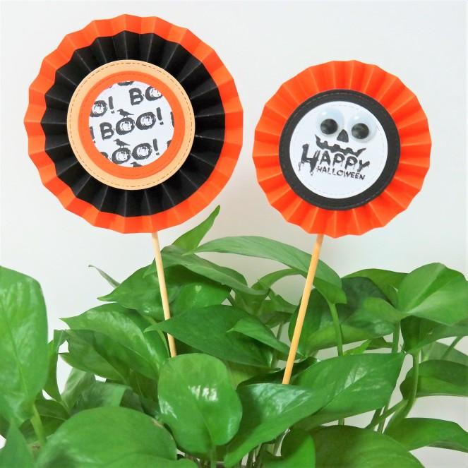 Halloween Plant Pot Decorations