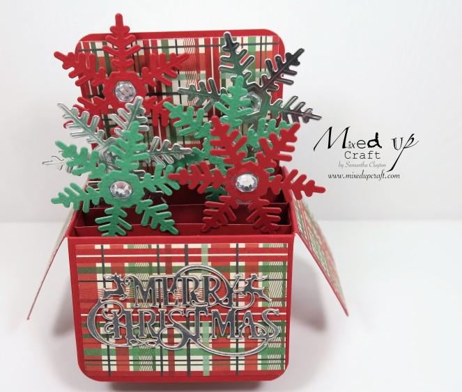 Pop Up Box Card Christmas Card