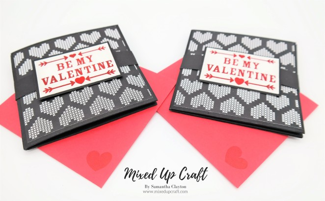 Corner Pop Up Valentines Card