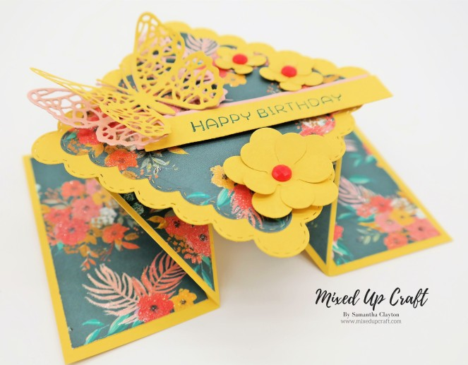 How to make a Diamond Fold Card