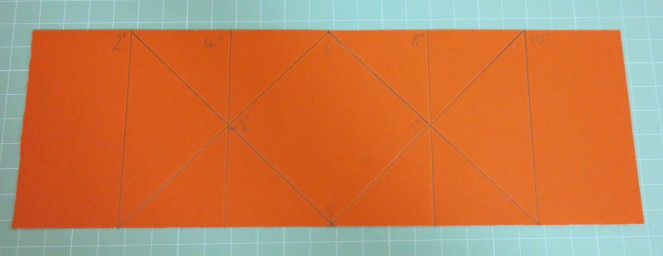 How to make a Diamond Fold Card Template