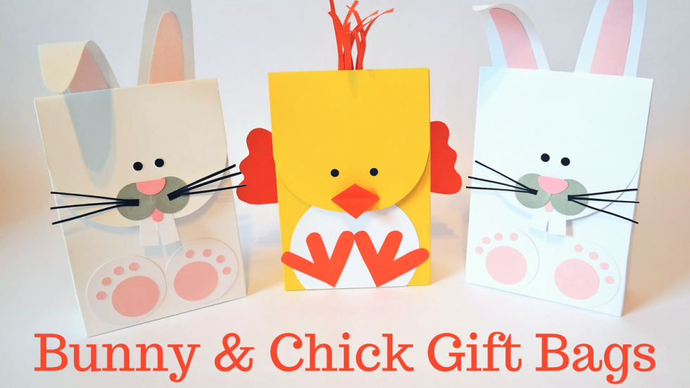 Easter gift bags easter bunny chick gift bags negle Image collections