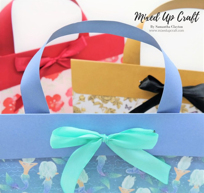 Large Briefcase Style Gift Bags