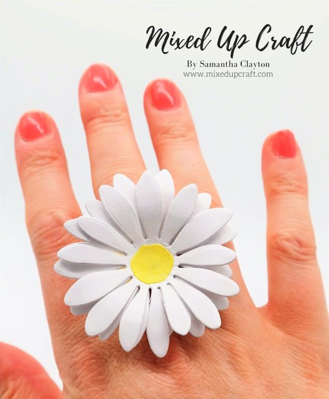 Paper Daisy Ring