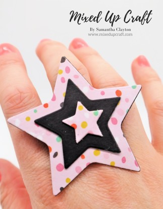 DIY Paper Star Ring