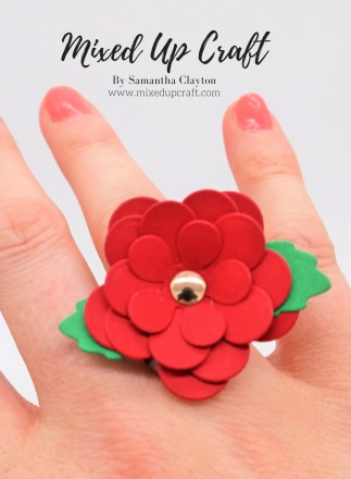 DIY Paper Flower Ring