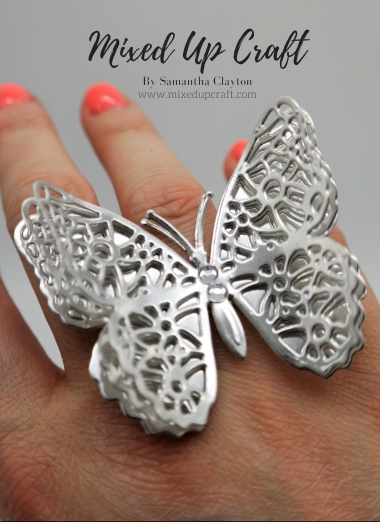DIY Paper Butterfly Ring