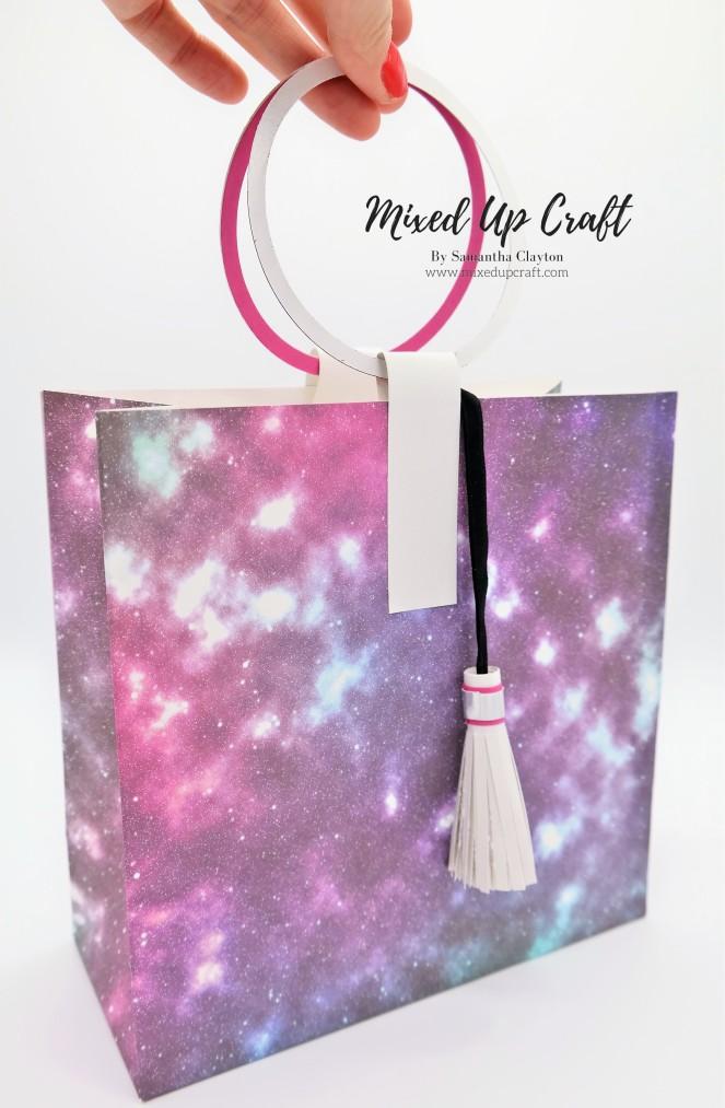 Circular Handle Gift Bag