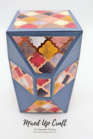 Unusual Faceted Gift Box
