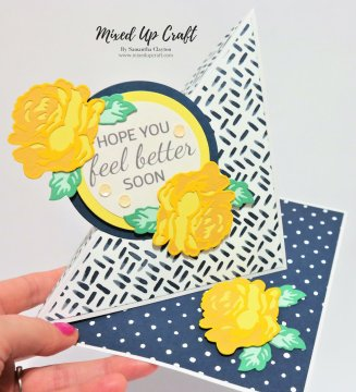 Twisted Easel Card