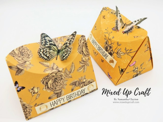 Curved Butterfly Pop Boxes.