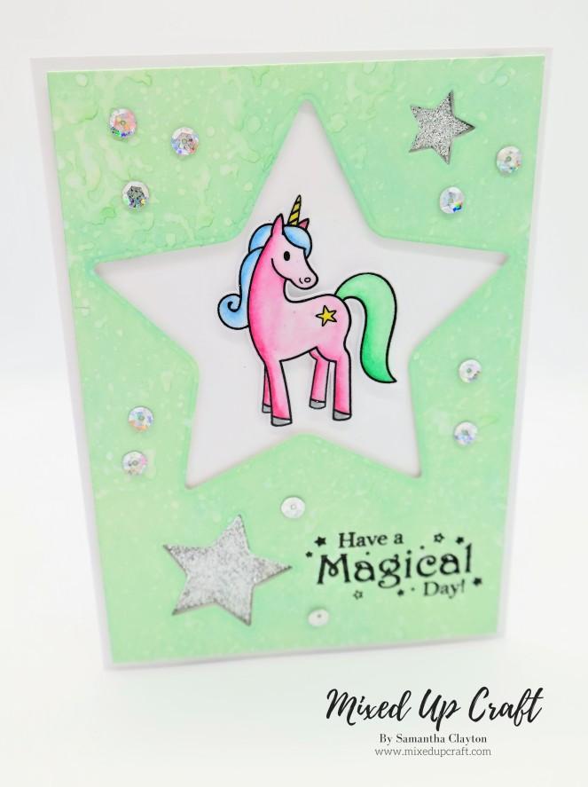 Unicorn Star Card