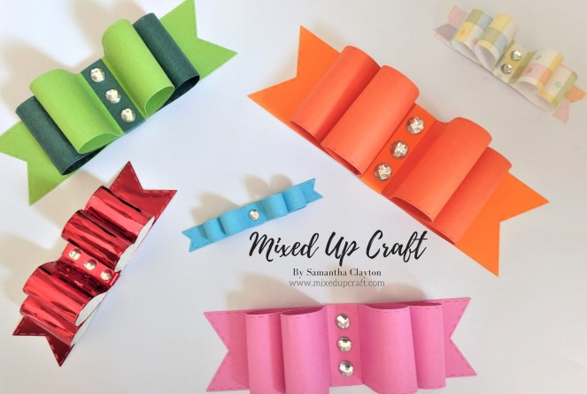 Easy Bow Toppers