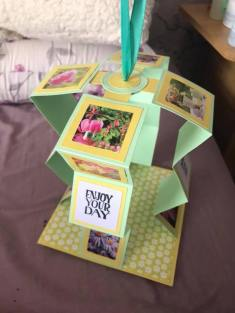 Pull Up Card made by Dawn