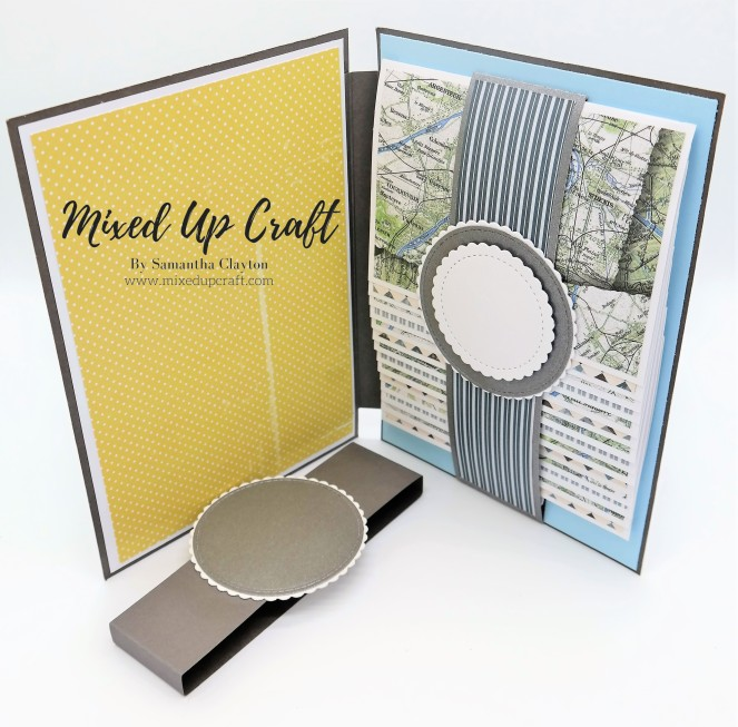How to make a Large Waterfall Card or Mini Album