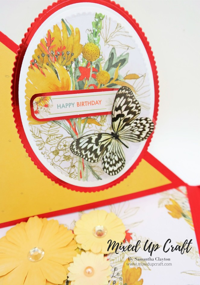 Double Twisted Easel Cards