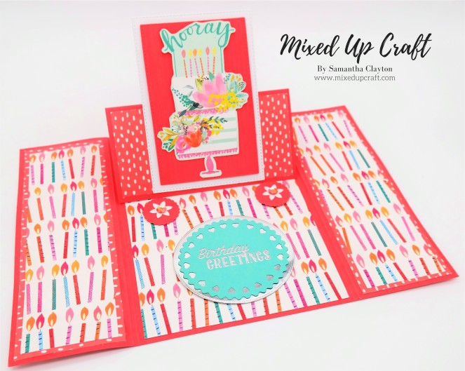 Easy Gatefold Easel Card