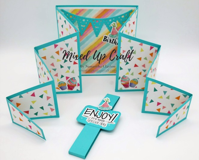 How to make a Large Zig Zag Fold Card