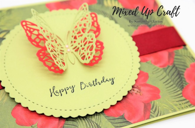 How to make an elegant Butterfly card.