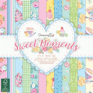 """Dovecraft """"Sweet Moments"""" Paper Pack"""