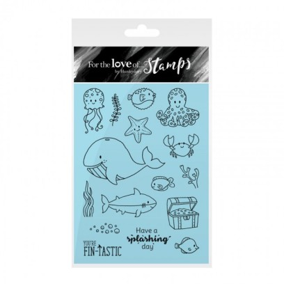 """For the love of stamps """"Under the Sea"""" by Hunkydory"""
