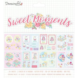 """Dovecraft """"Sweet Moments"""" Decoupage Pack"""