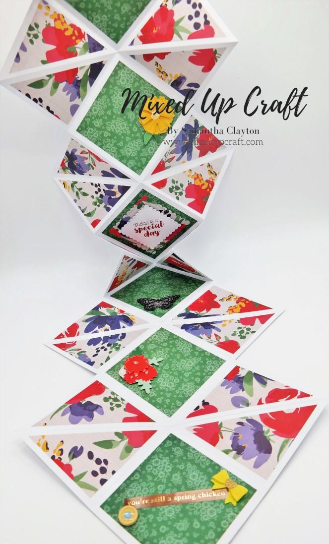Reverse Fold Hanging Card