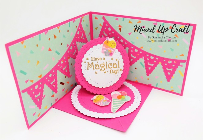 Pop Up Easel Card / Corner Easel Card