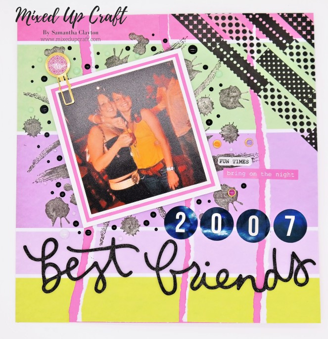 "Scrapbook Layout ""Best Friends"""