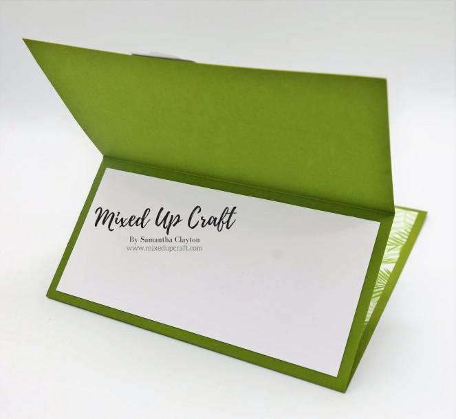 Reverse Easel Fold Card