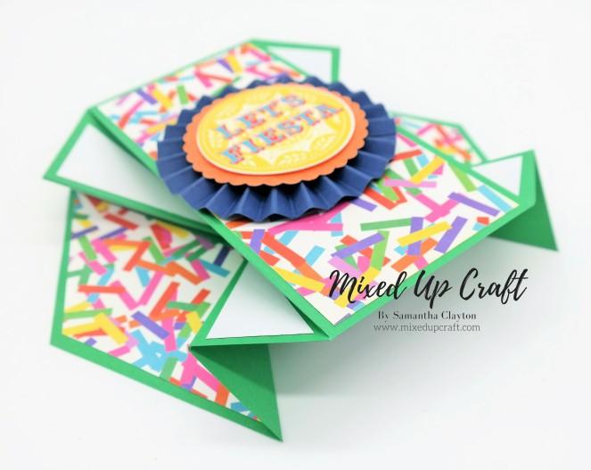 Double Diamond Fold Card