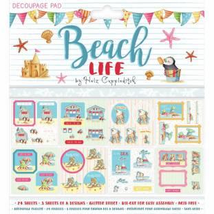 Trimcraft Beach Life decoupage pad