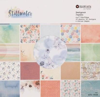 """Rosie's Studio """"Stillwater"""" paper pack"""