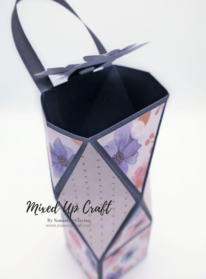 Pretty Faceted Gift Bag