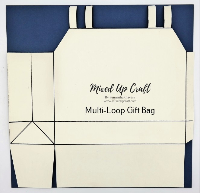 Multi-Loop Gift Bag Template