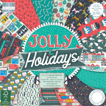 """First Edition """"Jolly Holidays"""" Paper Pack"""