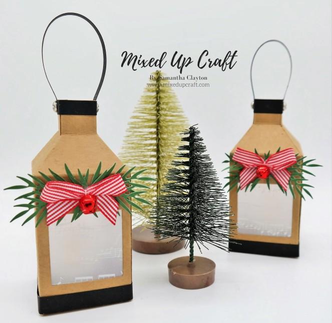 Mini Lantern Tree Decorations.
