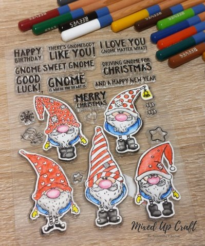 Nick the Gnome stamp set