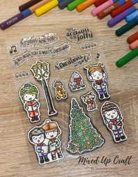 Carolling Cuties Stamp Set, For the Love of Stamps
