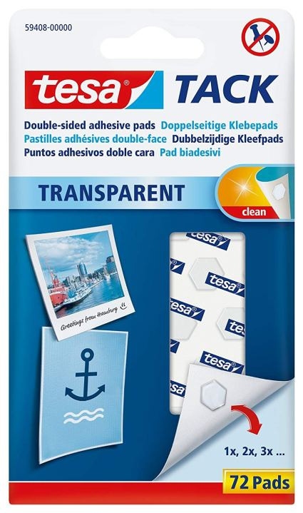 Tesa Transparent Glue Pads