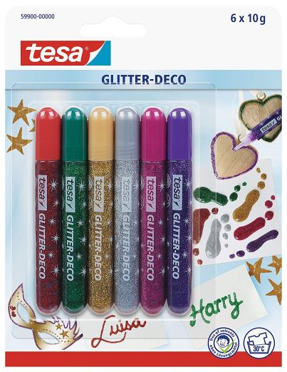Tesa Glitter Glue Pens