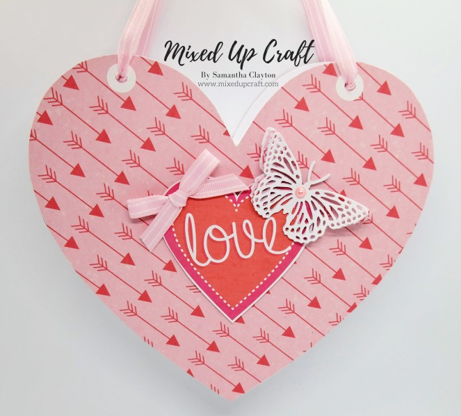 Heart Shaped Gift Bag
