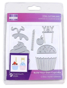 Build A Cupcake First Edition Dies.