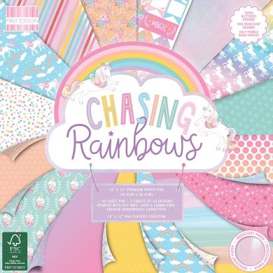 First Edition Chasing Rainbows Paper Pack