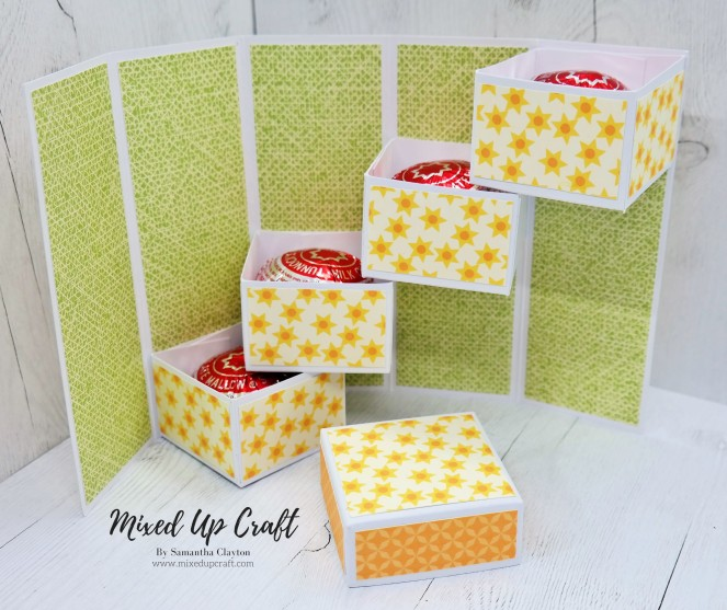 Stepper Box Card