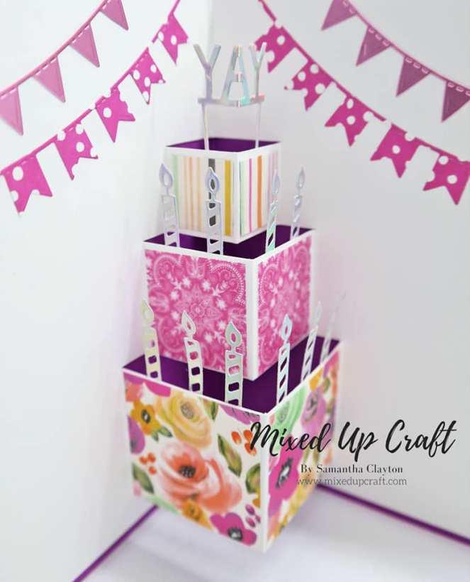 Pop-Up Birthday Cake Card