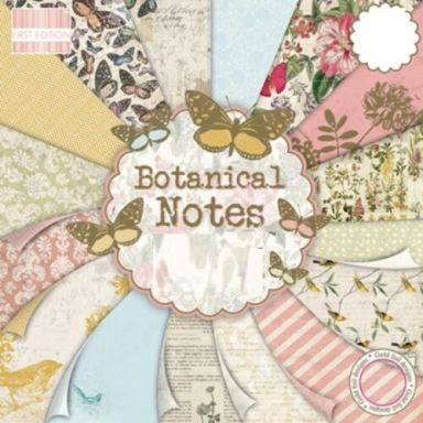 First Edition Botanical Notes Paper Pack
