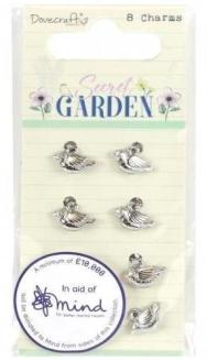 Secret Garden Bird Charms