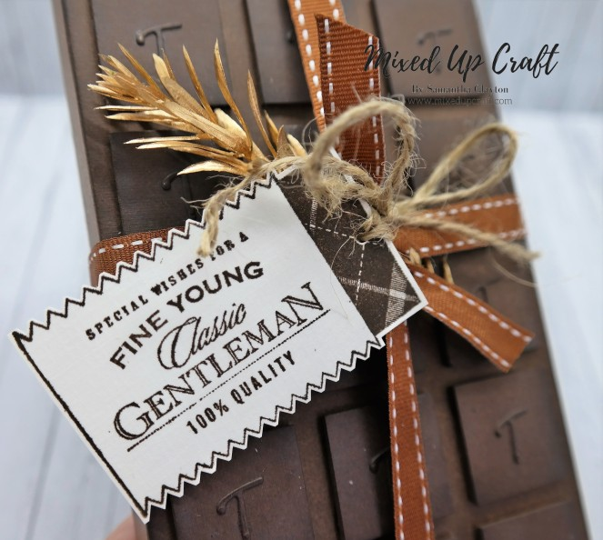 Chocolate Bar Style Gift Box